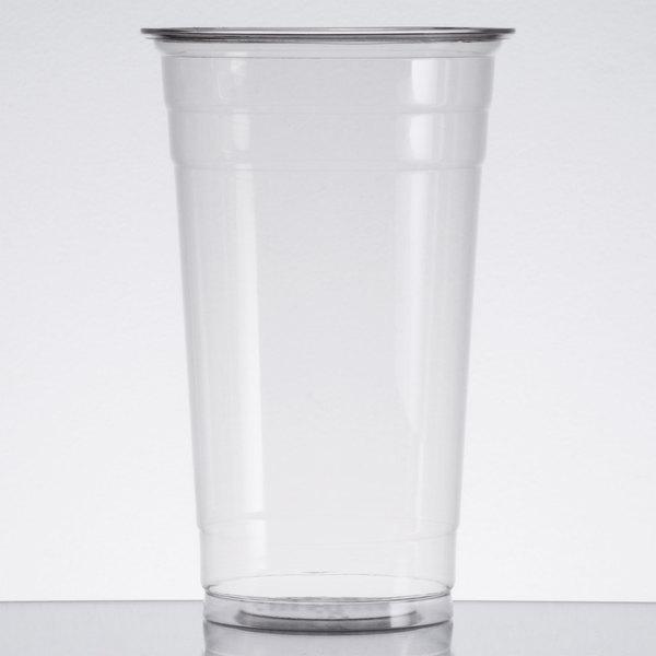 Choice 24 oz. Clear PET Plastic Cold Cup - 600/Case