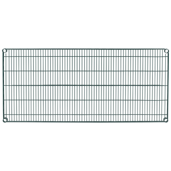 "Metro 2454N-DSG Super Erecta Smoked Glass Wire Shelf - 24"" x 54"""