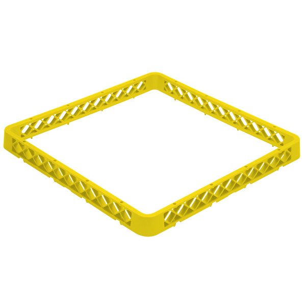 Vollrath TRA-08 Traex® Full-Size Yellow Open Glass Rack Extender