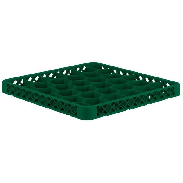Vollrath TRH-19 Traex® Full-Size Green 30 Compartment Glass Rack Extender
