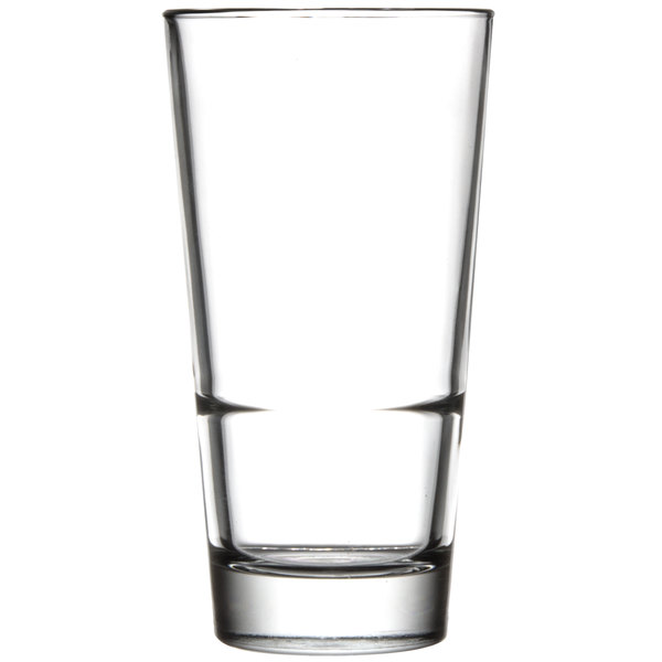 Libbey 15720 Endeavor 16.5 oz. Stacking Pub Glass - 12/Case