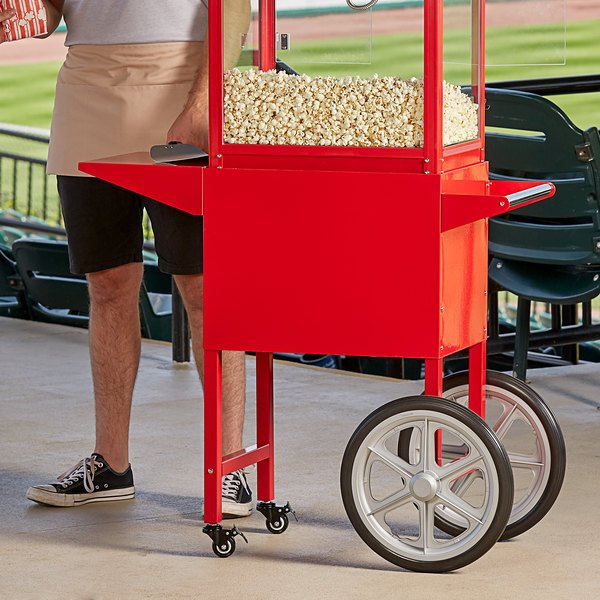 Carnival King PM30CART Cart for Royalty Series 8 oz. Popcorn Popper Main Image 3