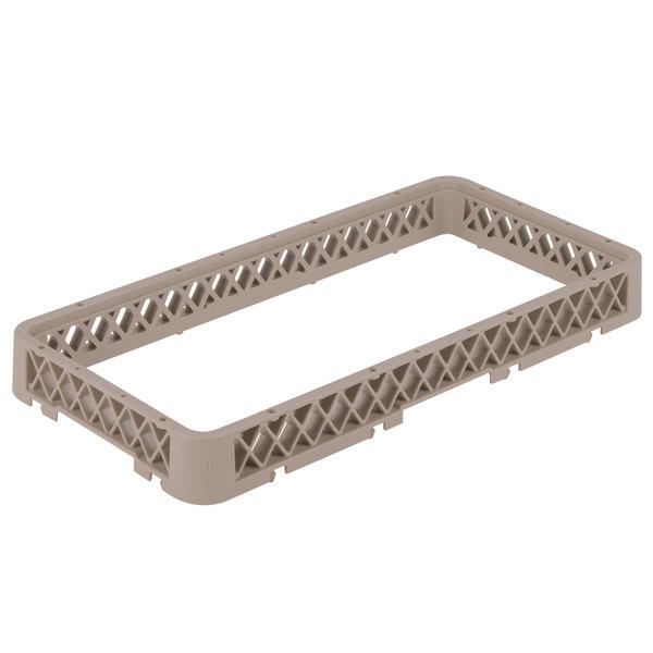 """Vollrath HRA Traex® Half-Size Beige 1 3/4"""" Open Rack Extender"""