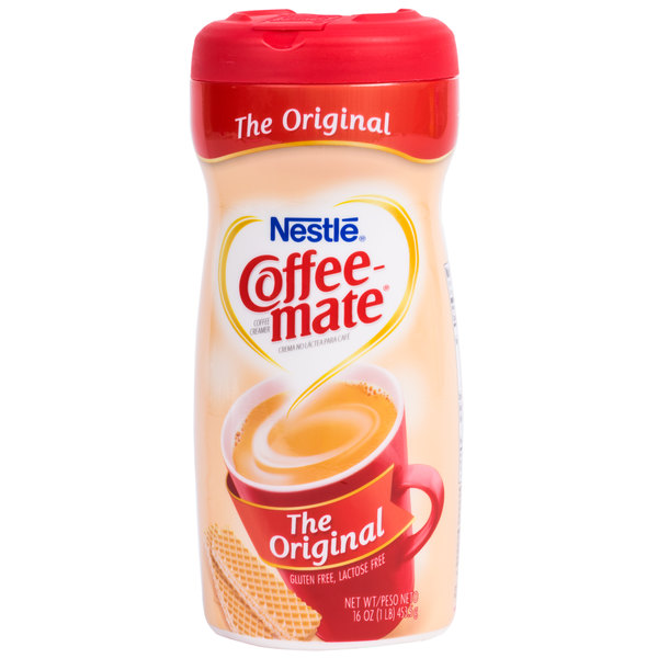 Nestle Coffee-Mate 16 oz. Original Coffee Creamer Shaker - 12/Case