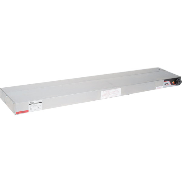 "APW Wyott FDL-24L-I 24"" Lighted Calrod Food Warmer with Infinite Controls - 208V, 430W"