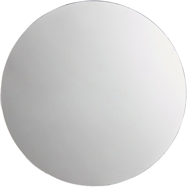 "Carlisle SMR2423 24"" MirAcryl™ Round Mirror Tray Main Image 1"