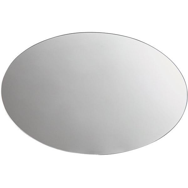 "Carlisle SMO162423 24"" x 16"" MirAcryl™ Oval Mirror Tray Main Image 1"