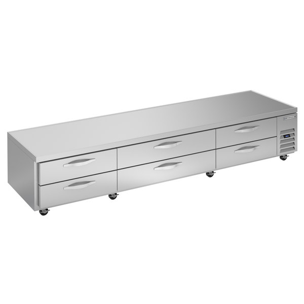 """Beverage-Air WTRCS112-1 112"""" Six Drawer Refrigerated Chef Base Main Image 1"""