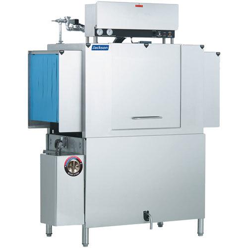 Jackson AJX-54 Single Tank High Temperature Conveyor Dish Machine - Right to Left, 208V, 3 Phase