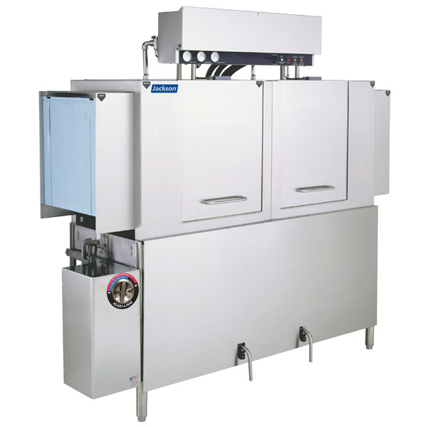 Jackson AJ-64 Dual Tank High Temperature Conveyor Dishmachine - Left to Right, 230V, 3 Phase Main Image 1