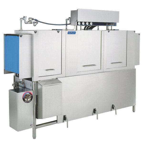 Jackson AJ-86 Dual Tank High Temperature Conveyor Dishmachine - Right to Left, 230V, 3 Phase Main Image 1