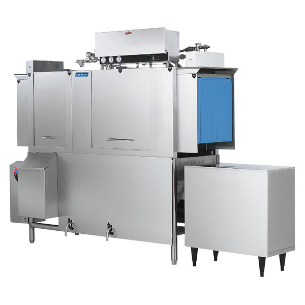 Jackson AJ-66 Single Tank High Temperature Conveyor Dishmachine - Left to Right, 230V, 3 Phase Main Image 1