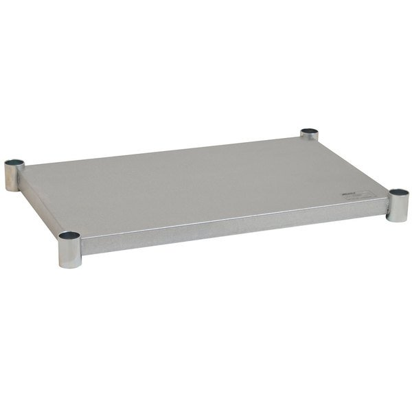"Eagle Group 2436GADJUS Galvanized Work Table Undershelf for 24"" x 36"" Table"