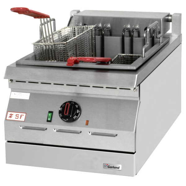 apw capacity countertop deep lb gas fryer burners