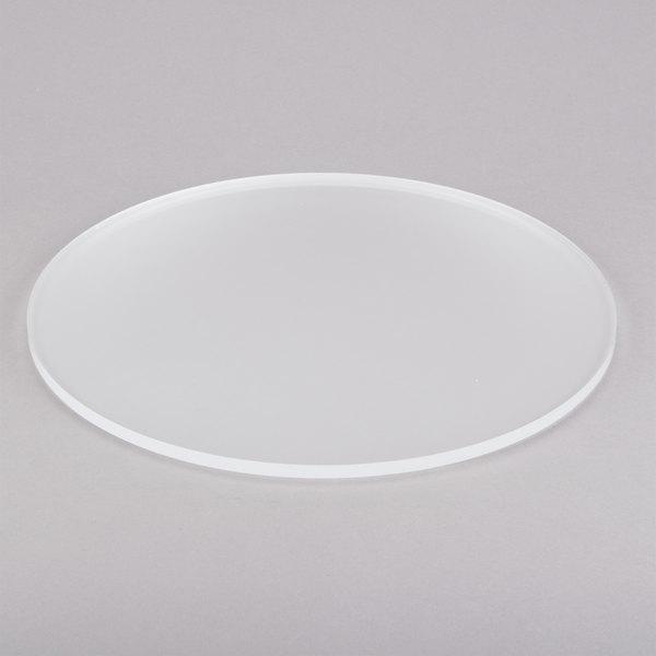 "Eastern Tabletop 0814AC 14"" Round Acrylic Display Shelf"
