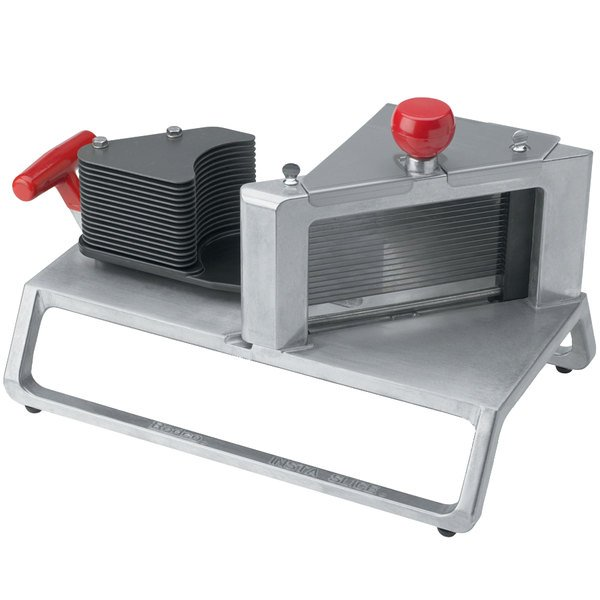 """Vollrath 15202 Redco InstaSlice 7/32"""" Fruit and Vegetable Cutter with Straight Blades"""