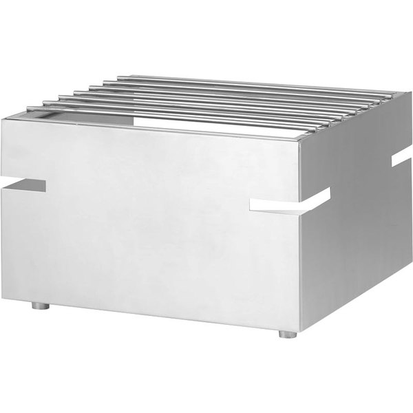 Eastern Tabletop 3277 LeXus Action Station Stainless Steel Raised Butane Stove Cover Up with Grill Top Main Image 1