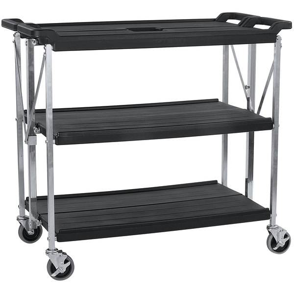 7d85b0d4c6cc Utility and bussing carts take up a lot of valuable space to store—space  that you could be using for storing consumables