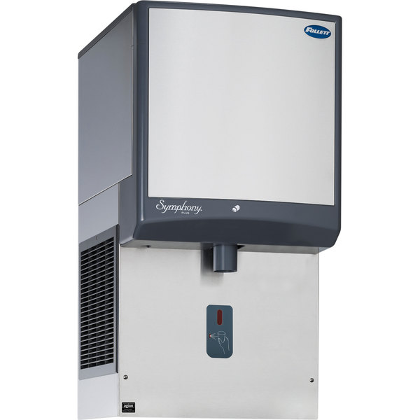 Follett 50HI425A-SI-00 50 Series Air Cooled Wall Mount Ice Dispenser - 50 lb. Storage Main Image 1