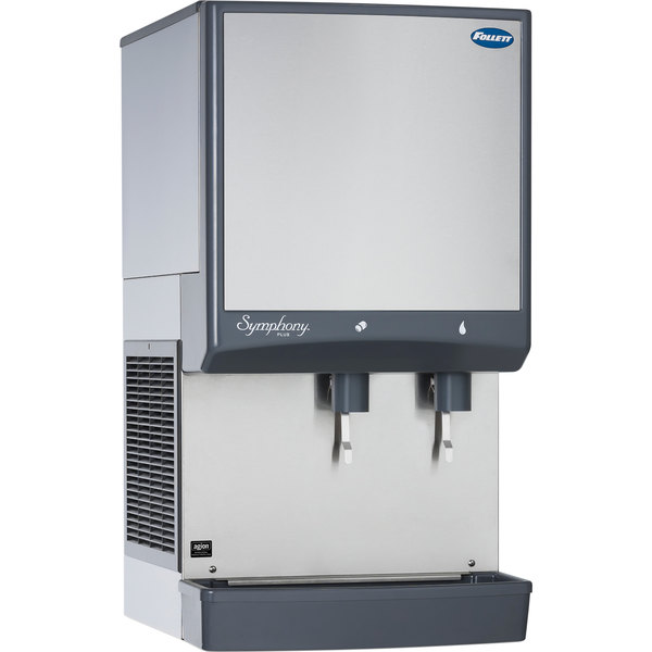 Follett 50CI425A-L Symphony Countertop Air Cooled Ice Maker and Water Dispenser - 50 lb.