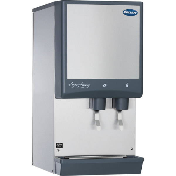 Follett 12CI425A-L Symphony Countertop Air Cooled Ice Maker and Water Dispenser - 12 lb.