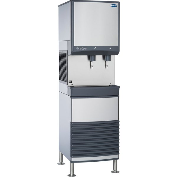 Follett 25FB425A-L 25 Series Air Cooled Freestanding Ice Maker and Water Dispenser - 25 lb. Storage