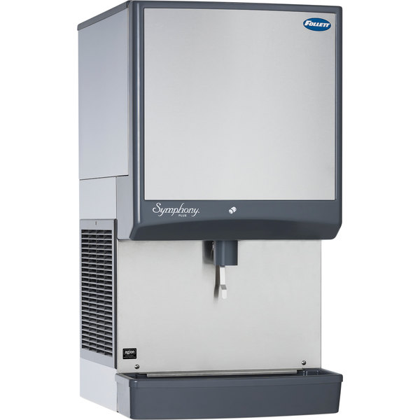 Follett 50CI425W-LI Symphony Countertop Water Cooled Ice Maker / Dispenser - 50 lb.