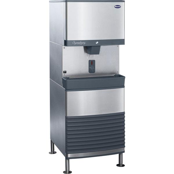 Follett 110FB425A-SI 110 FB Series Freestanding Air Cooled Ice Maker / Dispenser - 90 lb. Storage
