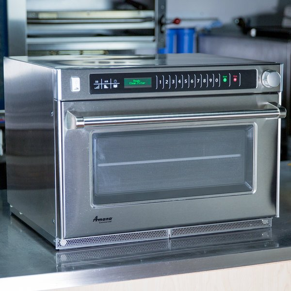 Amana Amso22 Heavy Duty Commercial Steamer Microwave Oven 208 240v 2200w