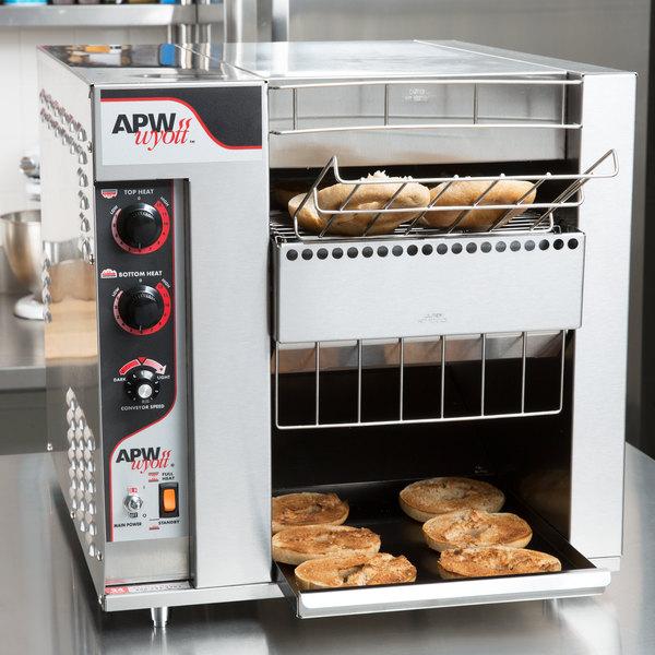 """APW Wyott BT-15-2 BagelMaster Conveyor Toaster with 2"""" Opening - 208V Main Image 10"""