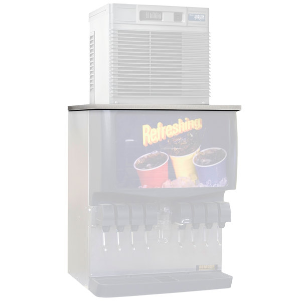 "Follett MTC30SCP 30"" Stainless Steel Top Kit for MCD425AHT Ice Machine on Cornelius Dispensers"