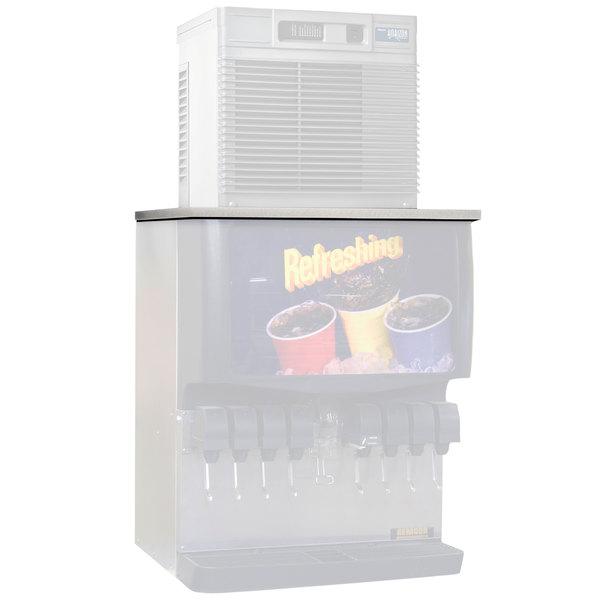 "Follett MTC22SCP 22"" Stainless Steel Top Kit for MCD425AHT Ice Machine on Cornelius Dispensers"