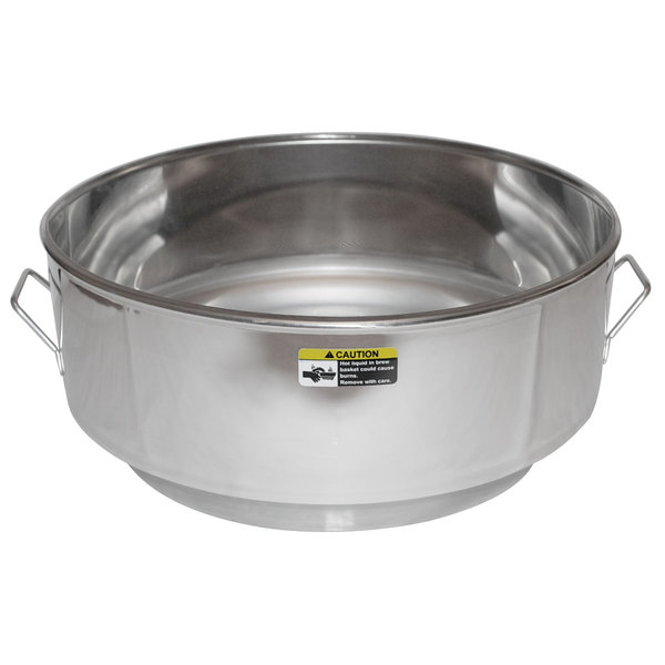 Grindmaster A#158 10 Gallon Coffee Urn Brew Basket with Permanent Stainless Steel Screen