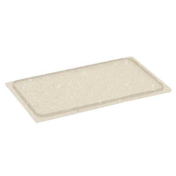 Vollrath 8240012 Miramar Blank Resin Adapter Plate - Oyster