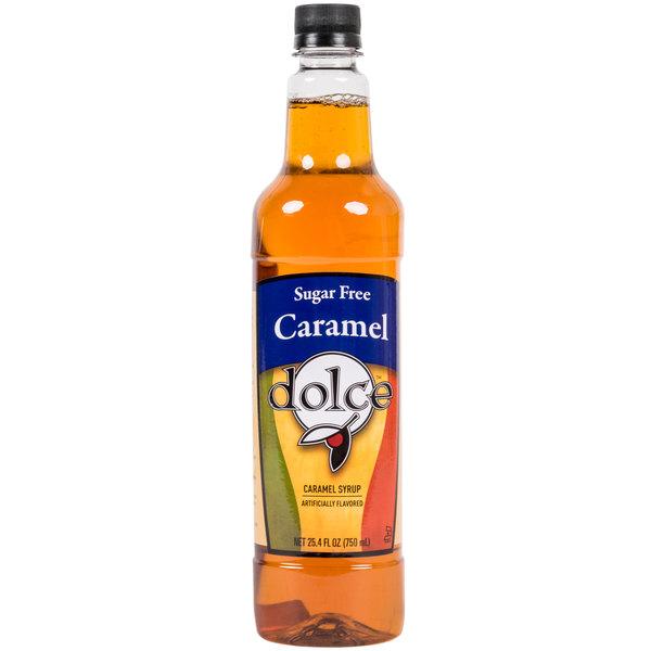 Dolce Caramel Sugar Free Coffee Flavoring Syrup