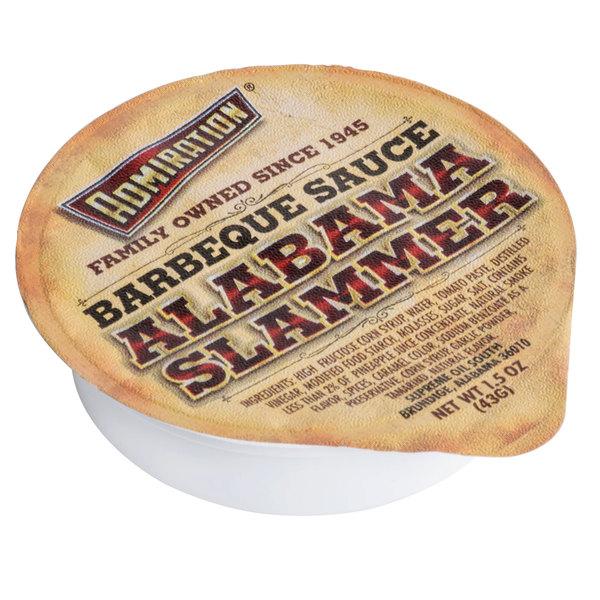 Admiration Alabama Slammer BBQ Sauce 1.5 oz. Portion Cup - 100/Case