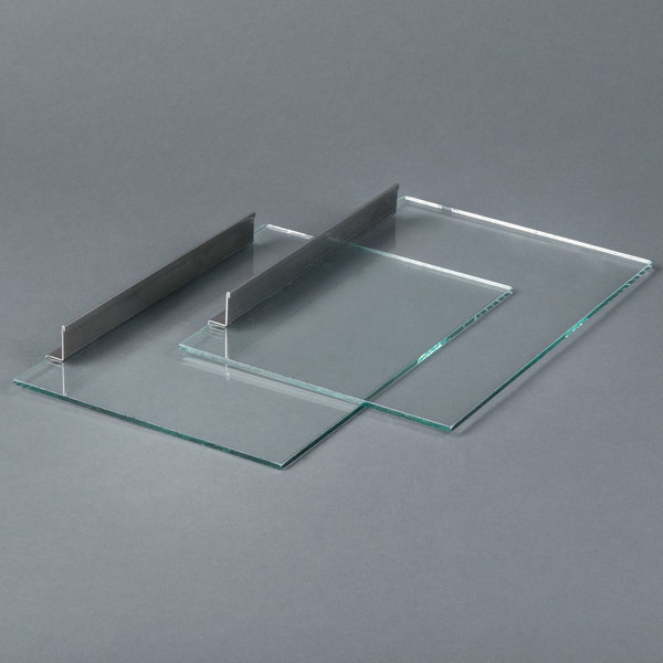 Paragon 596021 Replacement Glass Doors for Paragon 8020 Dog Hut Hot Dog Steamer and Merchandiser