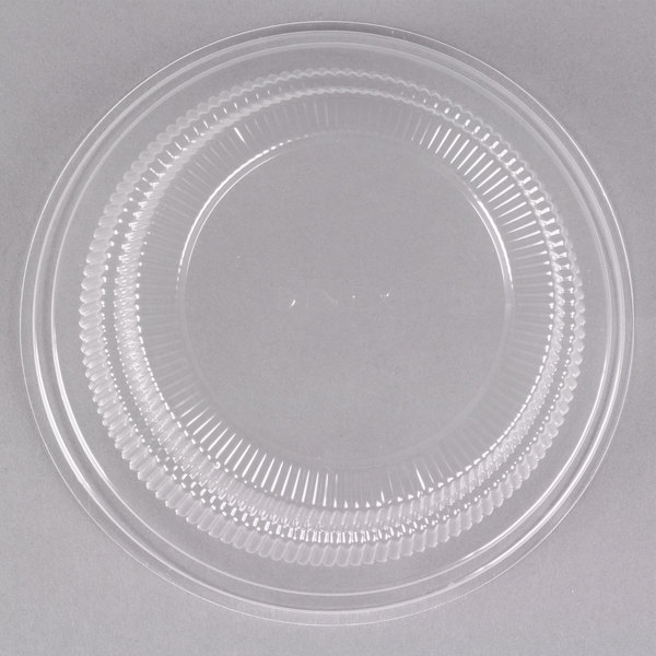Dinex DX11880174 Classic Clear Disposable Lid for Dinex China Bread Plates u0026 Fruit Bowls - 500/Case & Dinex DX11880174 Classic Clear Disposable Lid for Dinex China Bread ...