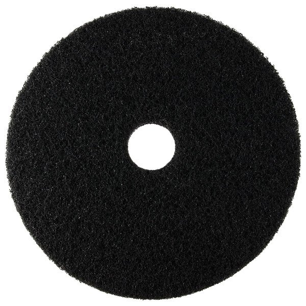 """Scrubble by ACS 72-20 Type 72 20"""" Black Stripping Floor Pad"""