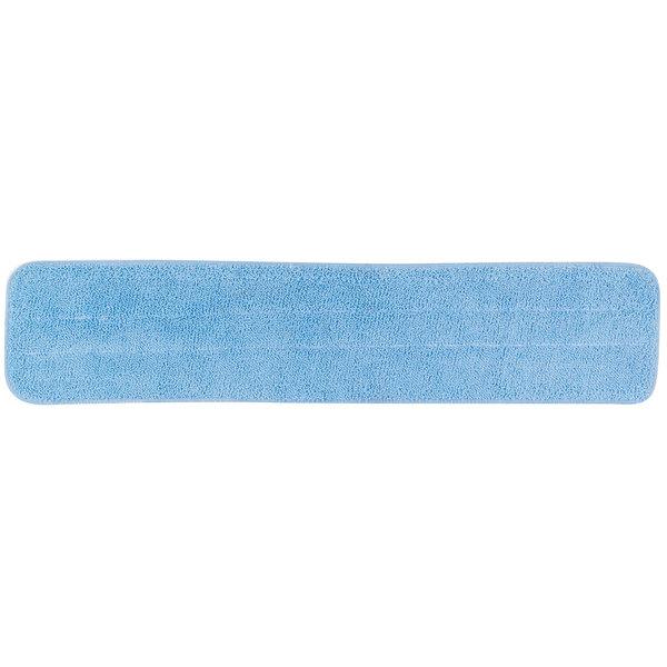 "Carlisle 363322414 24"" Blue Microfiber Wet Mop Pad"