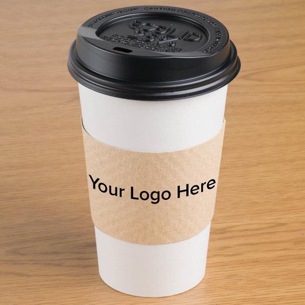 Custom Coffee Cup Sleeves 1800 Case
