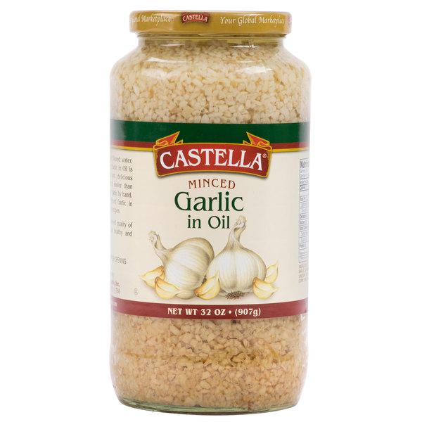 Castella 32 oz. Minced Garlic in Oil