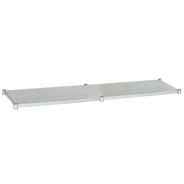 "Eagle Group 30108GADJUS Adjustable Galvanized Work Table Undershelf for 30"" x 108"" Tables"