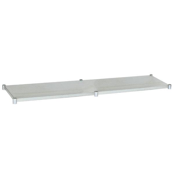 "Eagle Group 30120GADJUS Adjustable Galvanized Work Table Undershelf for 30"" x 120"" Tables"
