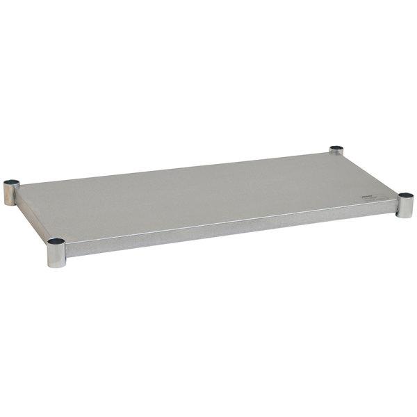 "Eagle Group 2448GADJUS Adjustable Galvanized Work Table Undershelf for 24"" x 48"" Tables"