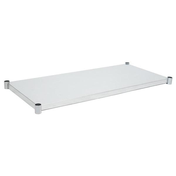 "Eagle Group 3060GADJUS Adjustable Galvanized Work Table Undershelf for 30"" x 60"" Tables"