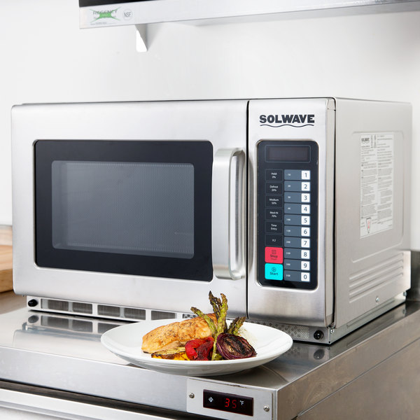 1800w stackable commercial microwave with large 12 cu ft interior solwave 1800w stackable commercial microwave with large 12 cu ft interior and push button controls 208240v publicscrutiny Images