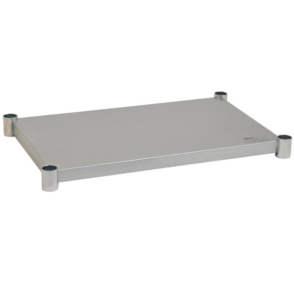 "Eagle Group 3036GADJUS Adjustable Galvanized Work Table Undershelf for 30"" x 36"" Tables Main Image 1"