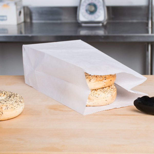12 lb. Waxed Paper Bag - 1000/Case