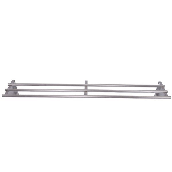 APW Wyott 32010166 3 Bar Tray Slide for 2 Well Sealed Element Steam Table Main Image 1